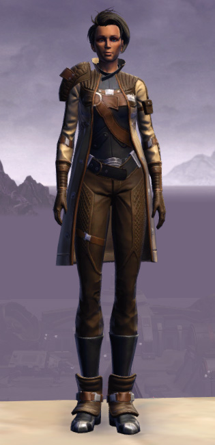 Renowned Duelist Armor Set Outfit from Star Wars: The Old Republic.