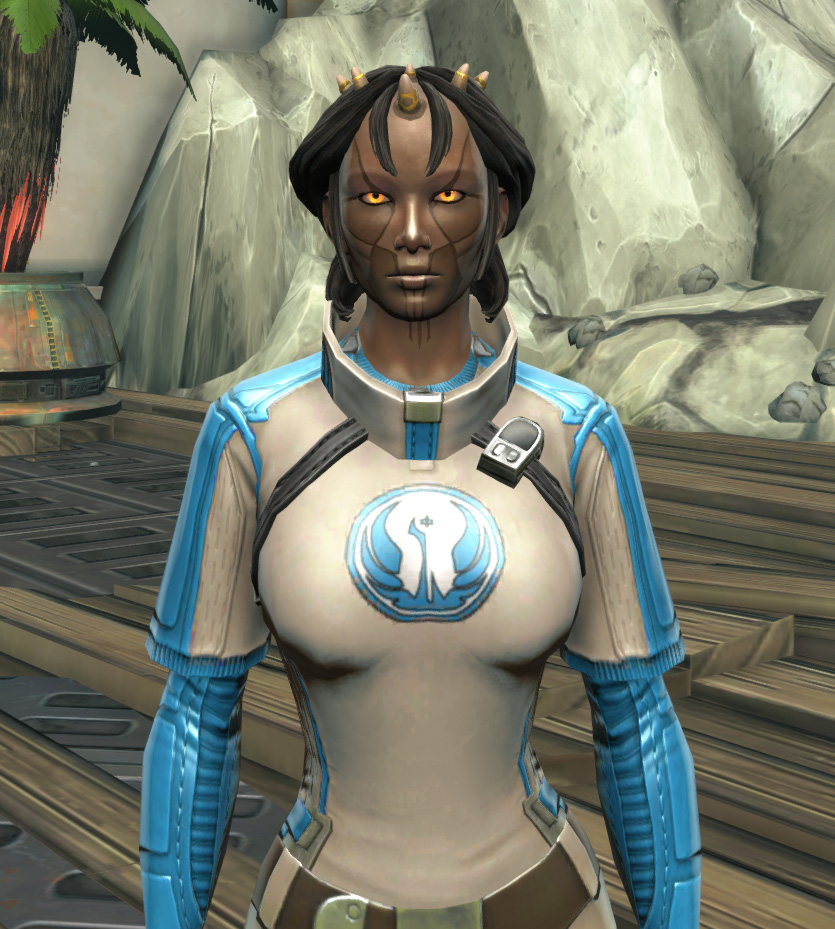 Republic Practice Jersey Armor Set from Star Wars: The Old Republic.