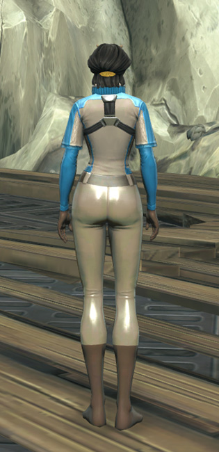 Republic Practice Jersey Armor Set player-view from Star Wars: The Old Republic.
