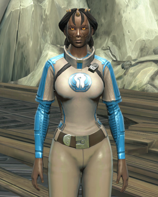 Republic Practice Jersey Armor Set Preview from Star Wars: The Old Republic.