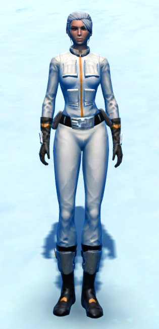 Republic Trooper Armor Set Outfit from Star Wars: The Old Republic.