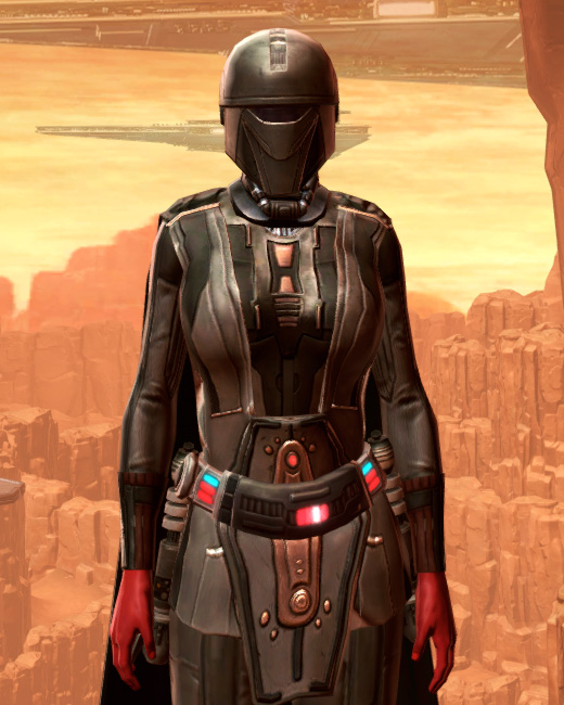 Resilient Lacqerous Armor Set Preview from Star Wars: The Old Republic.