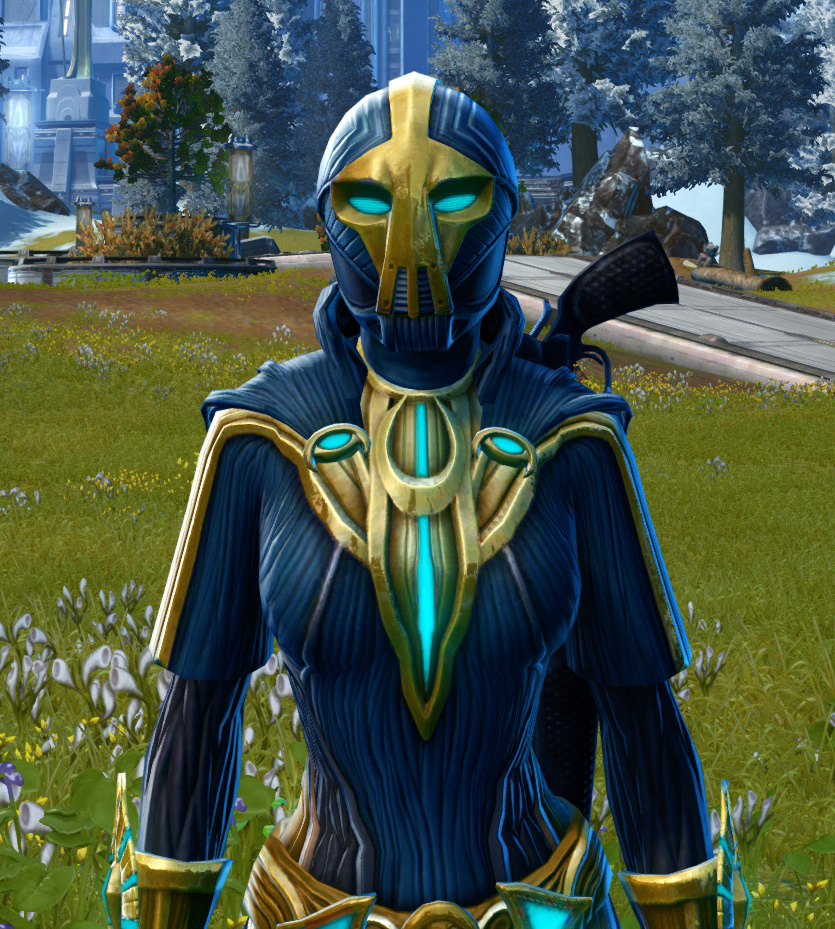 Righteous Harbinger Armor Set from Star Wars: The Old Republic.