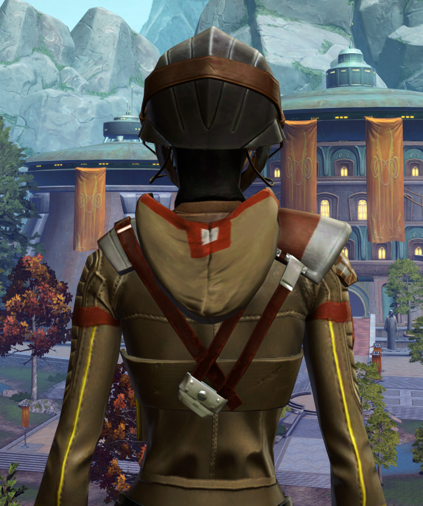 Romex Aegis Armor Set detailed back view from Star Wars: The Old Republic.