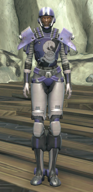 Rotworm Huttball Home Uniform Armor Set Outfit from Star Wars: The Old Republic.