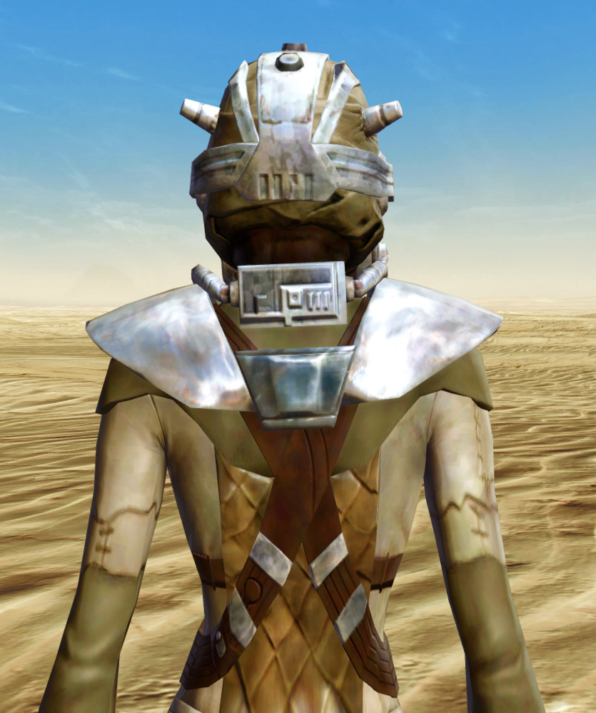 Sand People Armor Set detailed back view from Star Wars: The Old Republic.