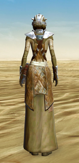 Sand People Armor Set player-view from Star Wars: The Old Republic.