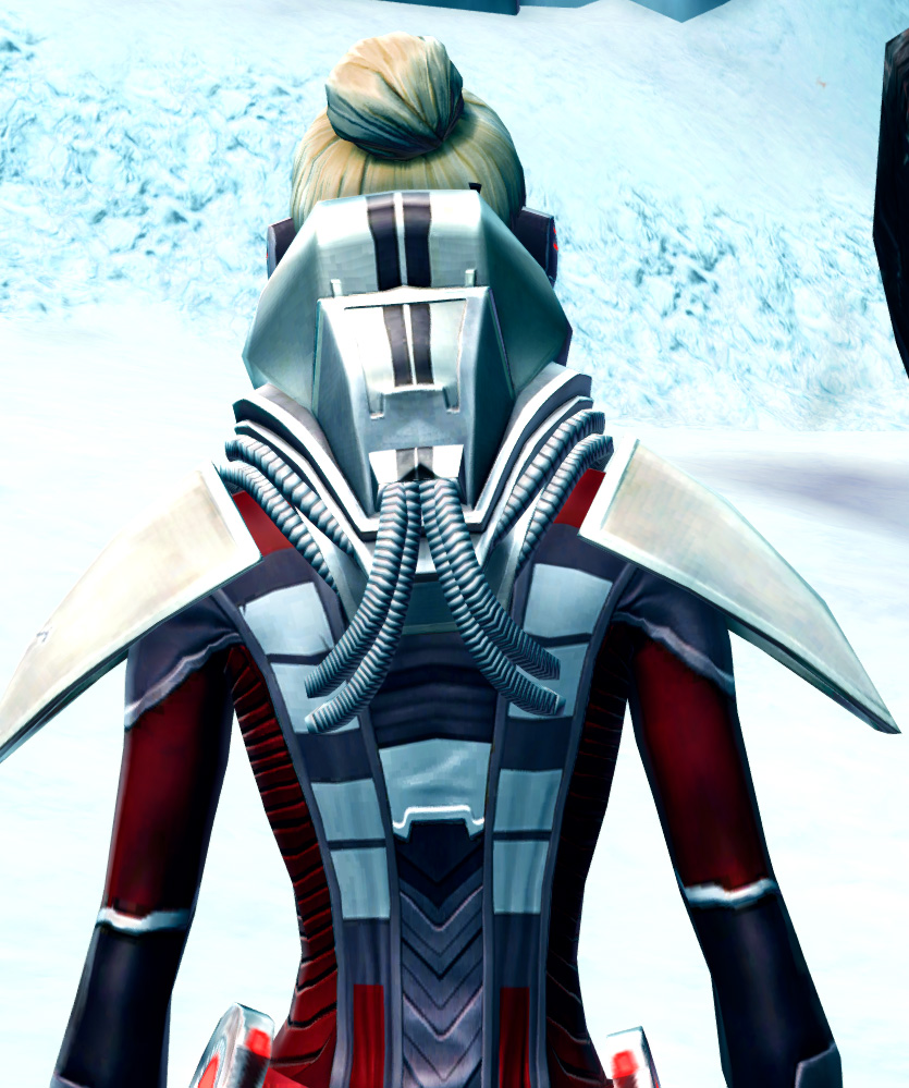 Savage Despot Armor Set detailed back view from Star Wars: The Old Republic.