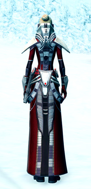 Savage Despot Armor Set player-view from Star Wars: The Old Republic.