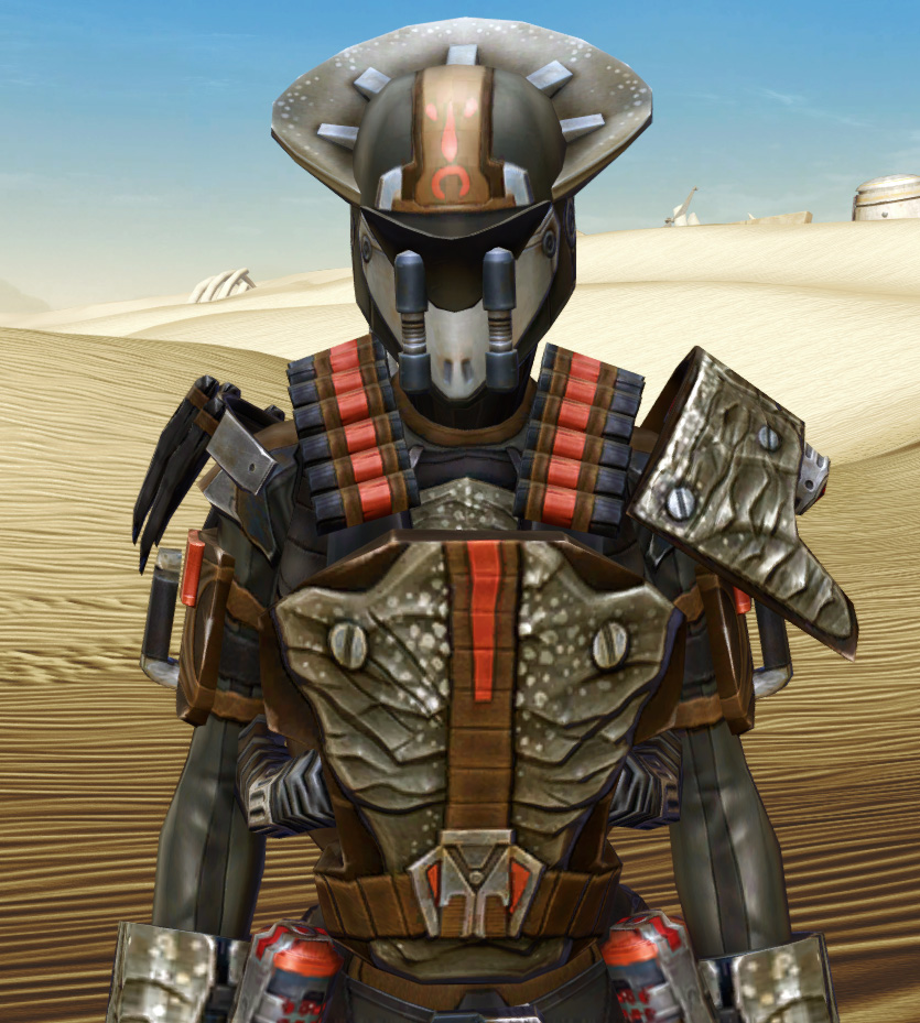 Savage Hunter Armor Set from Star Wars: The Old Republic.