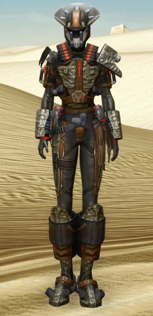Savage Hunter Armor Set Outfit from Star Wars: The Old Republic.