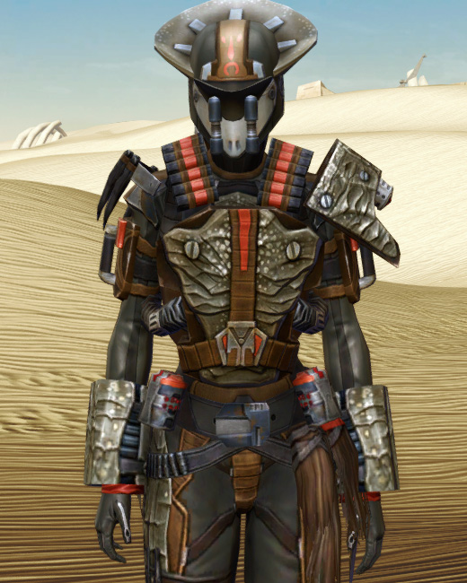 Savage Hunter Armor Set Preview from Star Wars: The Old Republic.
