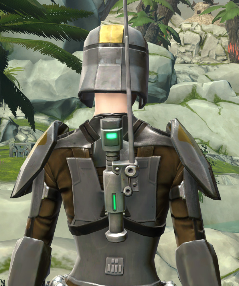 Scout Trooper Armor Set detailed back view from Star Wars: The Old Republic.