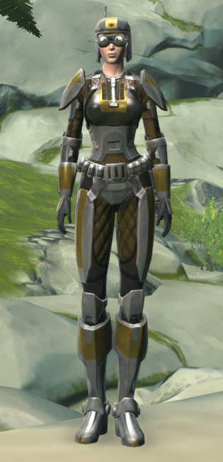 Scout Trooper Armor Set Outfit from Star Wars: The Old Republic.