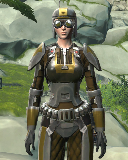 Scout Trooper Armor Set Preview from Star Wars: The Old Republic.