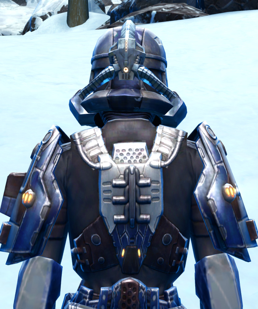 Section Guardian Armor Set detailed back view from Star Wars: The Old Republic.