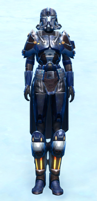 Section Guardian Armor Set Outfit from Star Wars: The Old Republic.
