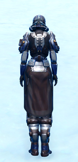 Section Guardian Armor Set player-view from Star Wars: The Old Republic.