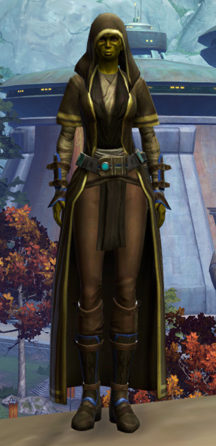 Sentinel Armor Set Outfit from Star Wars: The Old Republic.
