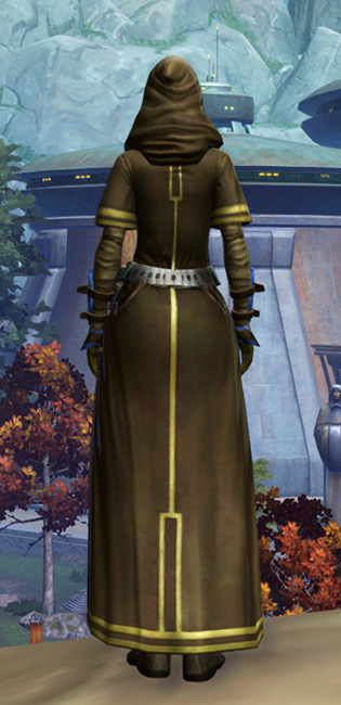 Sentinel Armor Set player-view from Star Wars: The Old Republic.