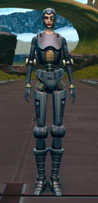 Series 212 Cybernetic Armor Set Outfit from Star Wars: The Old Republic.