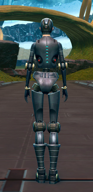 Series 212 Cybernetic Armor Set player-view from Star Wars: The Old Republic.