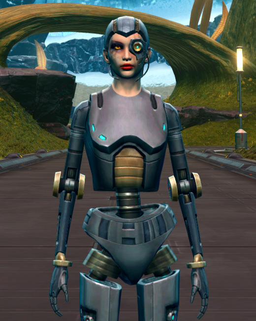 Series 212 Cybernetic Armor Set Preview from Star Wars: The Old Republic.