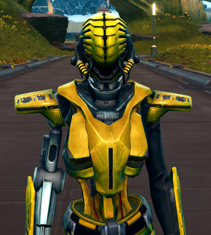 Series 808 Cybernetic Armor Armor Set from Star Wars: The Old Republic.