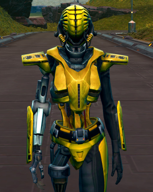 Series 808 Cybernetic Armor Armor Set Preview from Star Wars: The Old Republic.