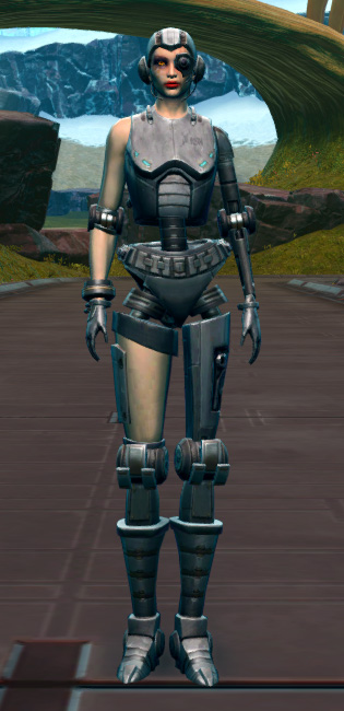Series 901 Cybernetic Armor Armor Set Outfit from Star Wars: The Old Republic.