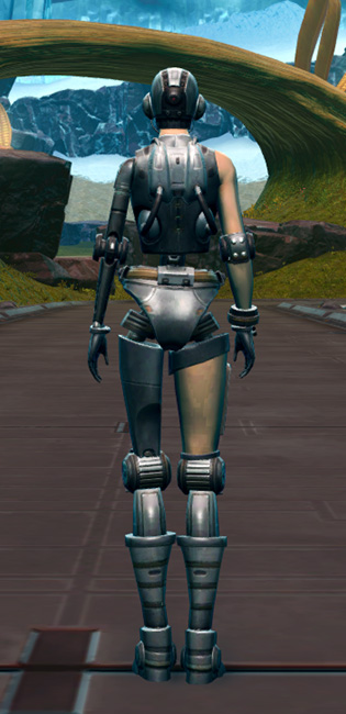 Series 901 Cybernetic Armor Armor Set player-view from Star Wars: The Old Republic.