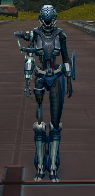 Series 917 Cybernetic Armor Set Outfit from Star Wars: The Old Republic.
