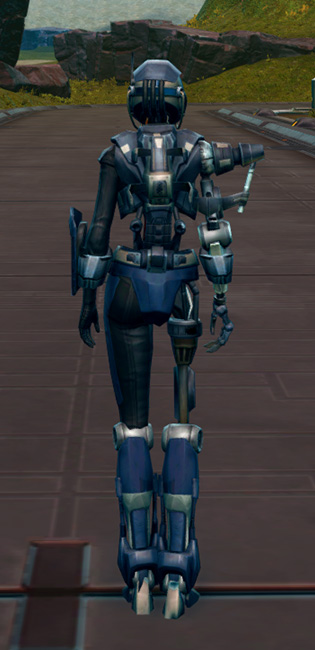 Series 917 Cybernetic Armor Set player-view from Star Wars: The Old Republic.