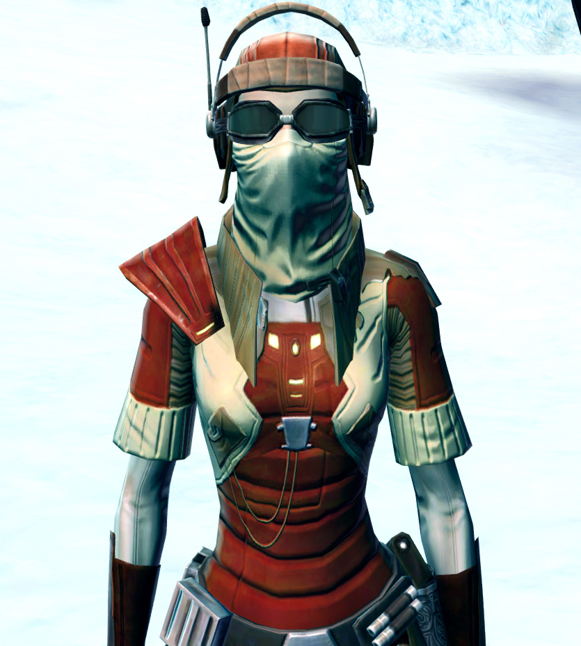 Shrewd Privateer Armor Set from Star Wars: The Old Republic.