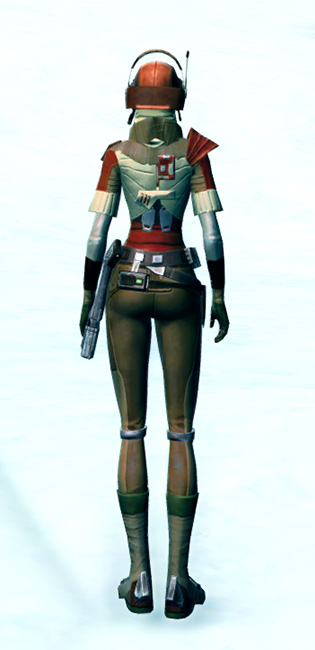 Shrewd Privateer Armor Set player-view from Star Wars: The Old Republic.