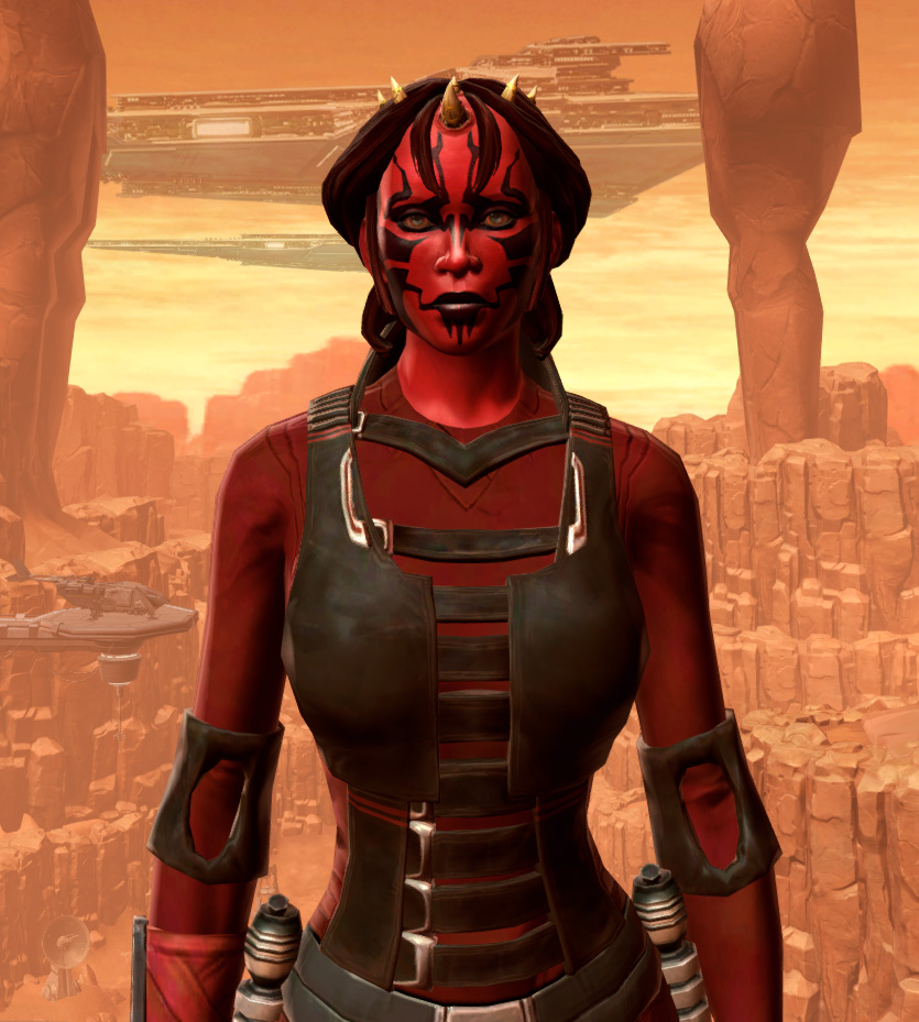 Sith Dueling Armor Set from Star Wars: The Old Republic.