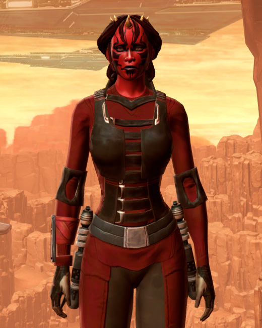 Sith Dueling Armor Set Preview from Star Wars: The Old Republic.