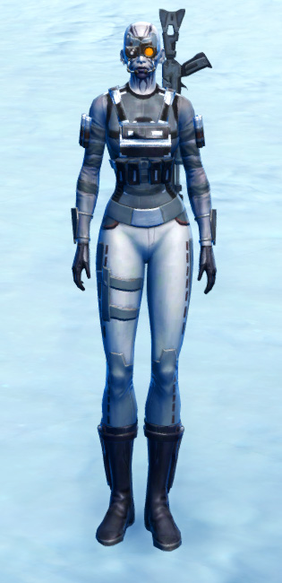 Sniper Elite Armor Set Outfit from Star Wars: The Old Republic.