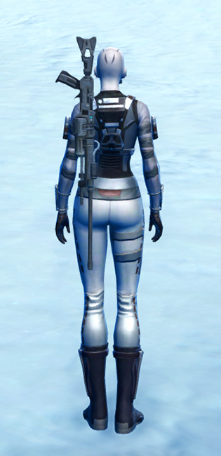 Sniper Elite Armor Set player-view from Star Wars: The Old Republic.