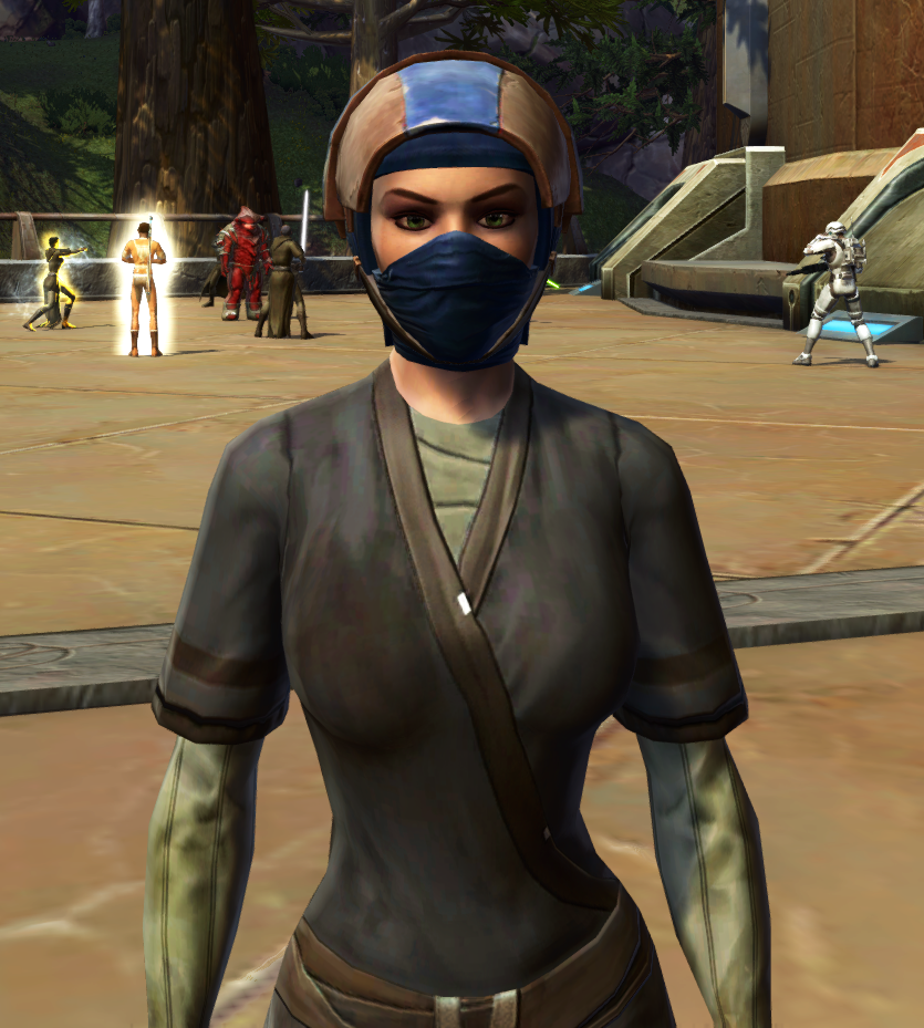 TD-03A Saboteur Headgear (Republic) Armor Set Preview from Star Wars: The Old Republic.