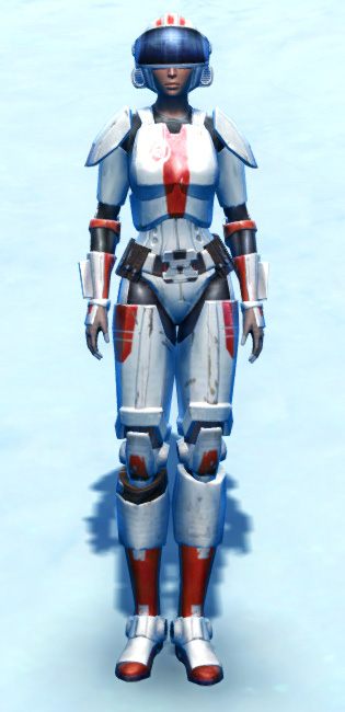 Tempered Laminoid Armor Set Outfit from Star Wars: The Old Republic.