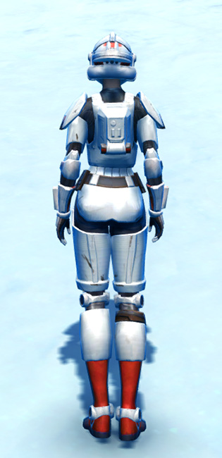 Tempered Laminoid Armor Set player-view from Star Wars: The Old Republic.