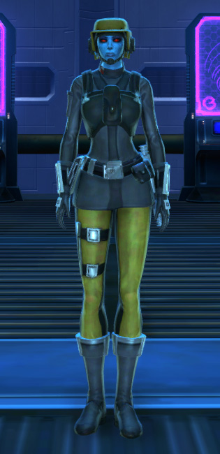 Terenthium Onslaught Armor Set Outfit from Star Wars: The Old Republic.
