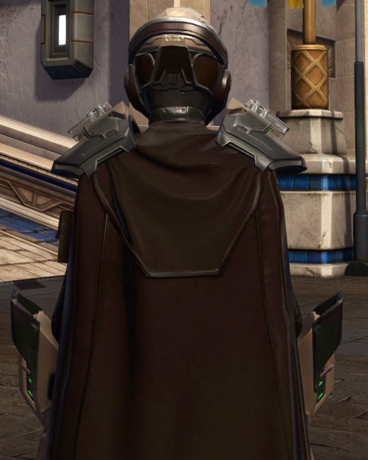 The Victor Armor Set Back from Star Wars: The Old Republic.