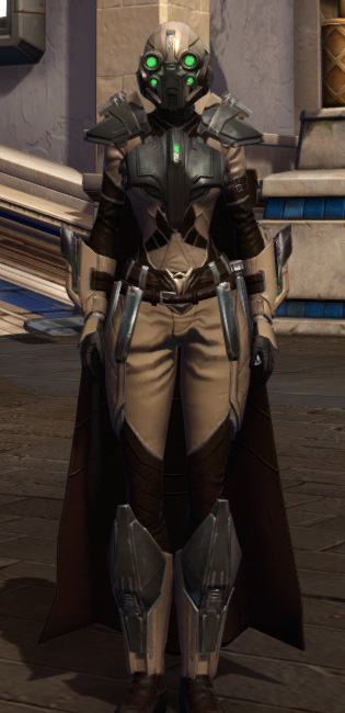 The Victor Armor Set Outfit from Star Wars: The Old Republic.