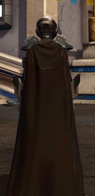 The Victor Armor Set player-view from Star Wars: The Old Republic.