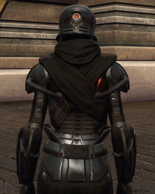 Tormented Armor Set Back from Star Wars: The Old Republic.