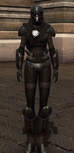 Tormented Armor Set Outfit from Star Wars: The Old Republic.