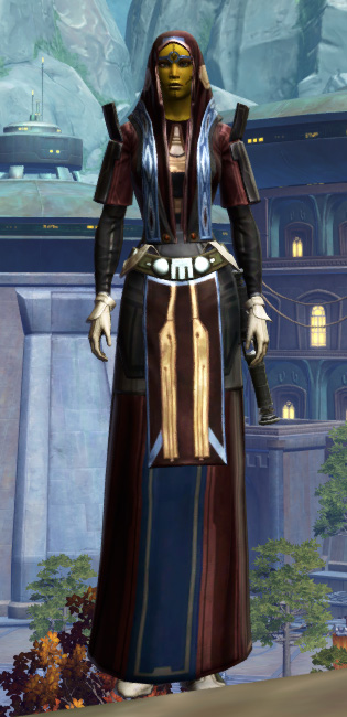 Traditional Brocart Armor Set Outfit from Star Wars: The Old Republic.