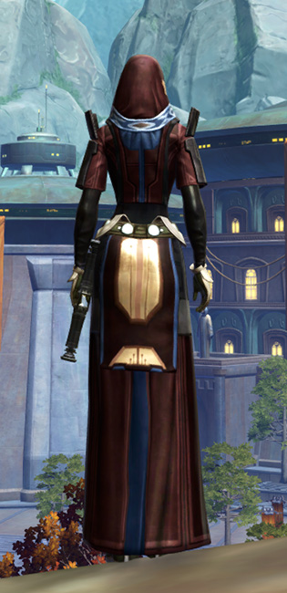 Traditional Brocart Armor Set player-view from Star Wars: The Old Republic.